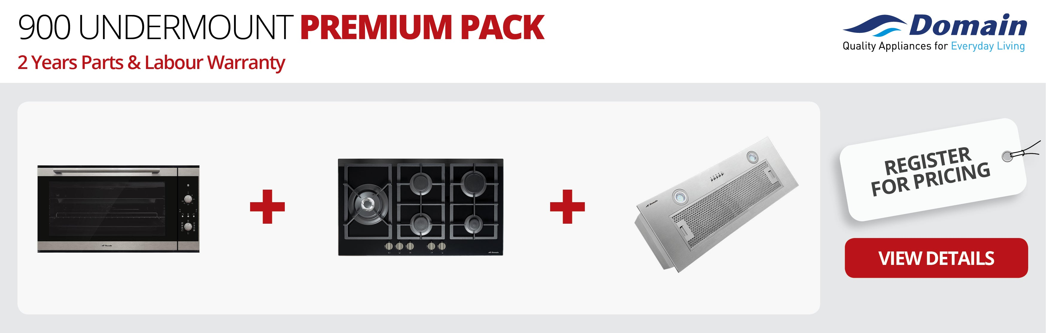 900 UNDERMOUNT Premium Pack