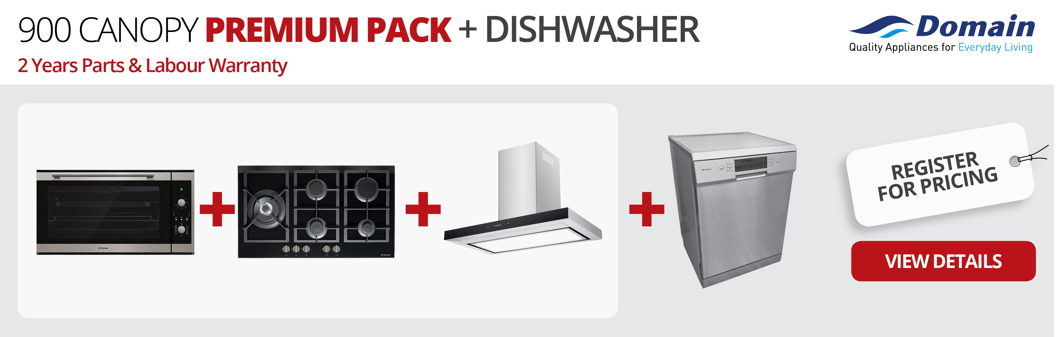 900 CANOPY Premium Pack + Dishwasher