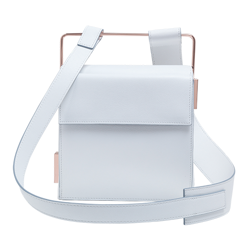 Easy To Love (Leather Shoulder Strap) - White