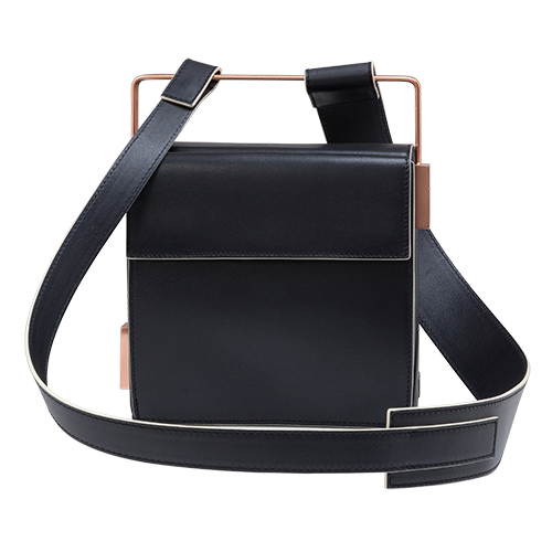 Easy To Love (Leather Shoulder Strap) - Black