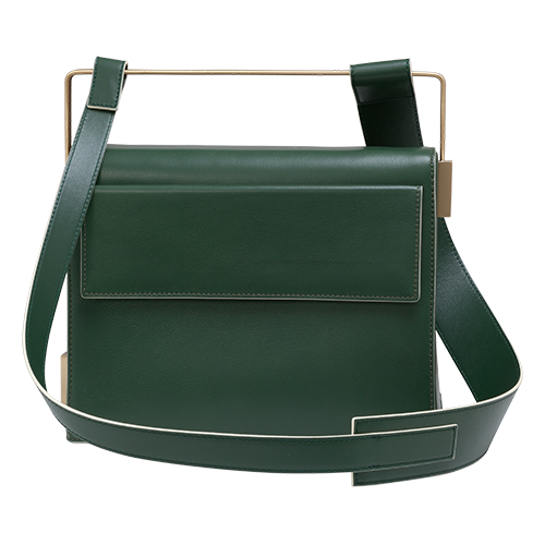 Easy To Love (Leather Shoulder Strap) - Green