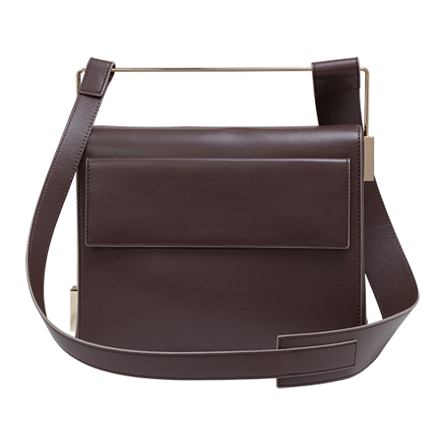 Easy To Love (Leather Shoulder Strap) - Chocolate