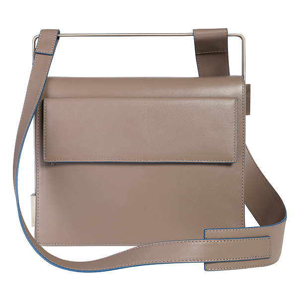 Easy To Love (Leather Shoulder Strap) - Taupe