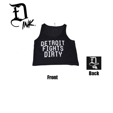 OG Detroit Fights Dirty Crop by FightDirtyINK