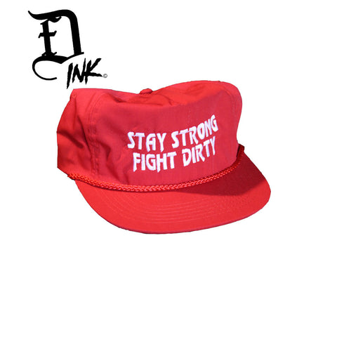 Stay Strong USA Classic Snapback by FightDirtyINK