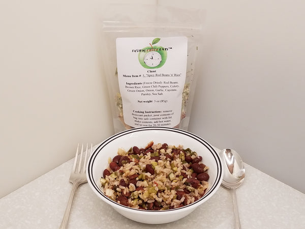 Spicy Red Beans and Rice Instant Meal