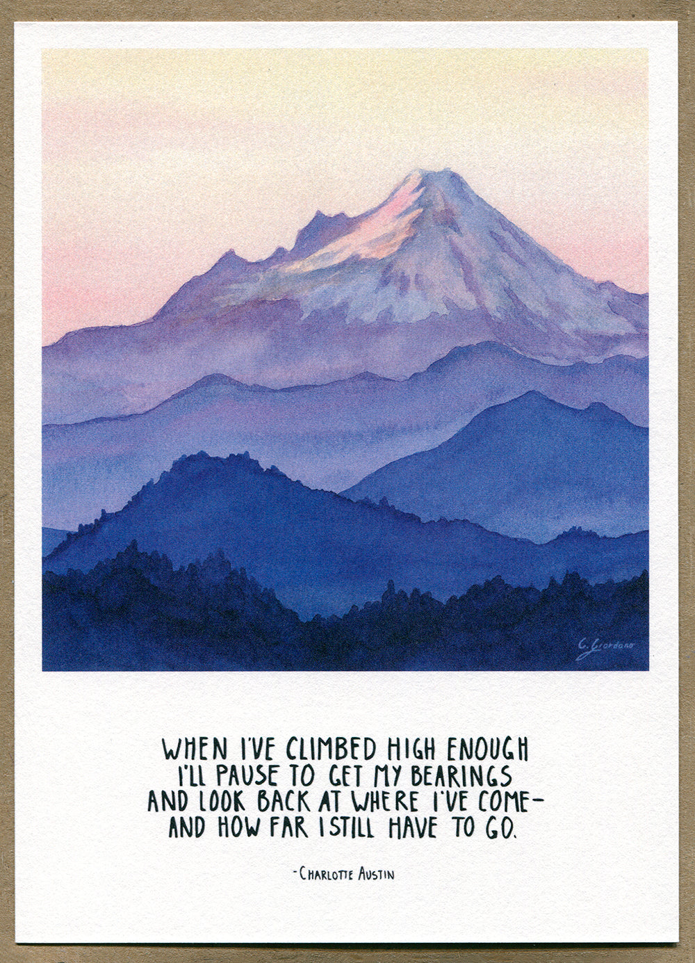 Seven Mountain Notecards