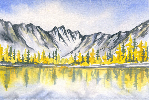 Alpine Lake Larches