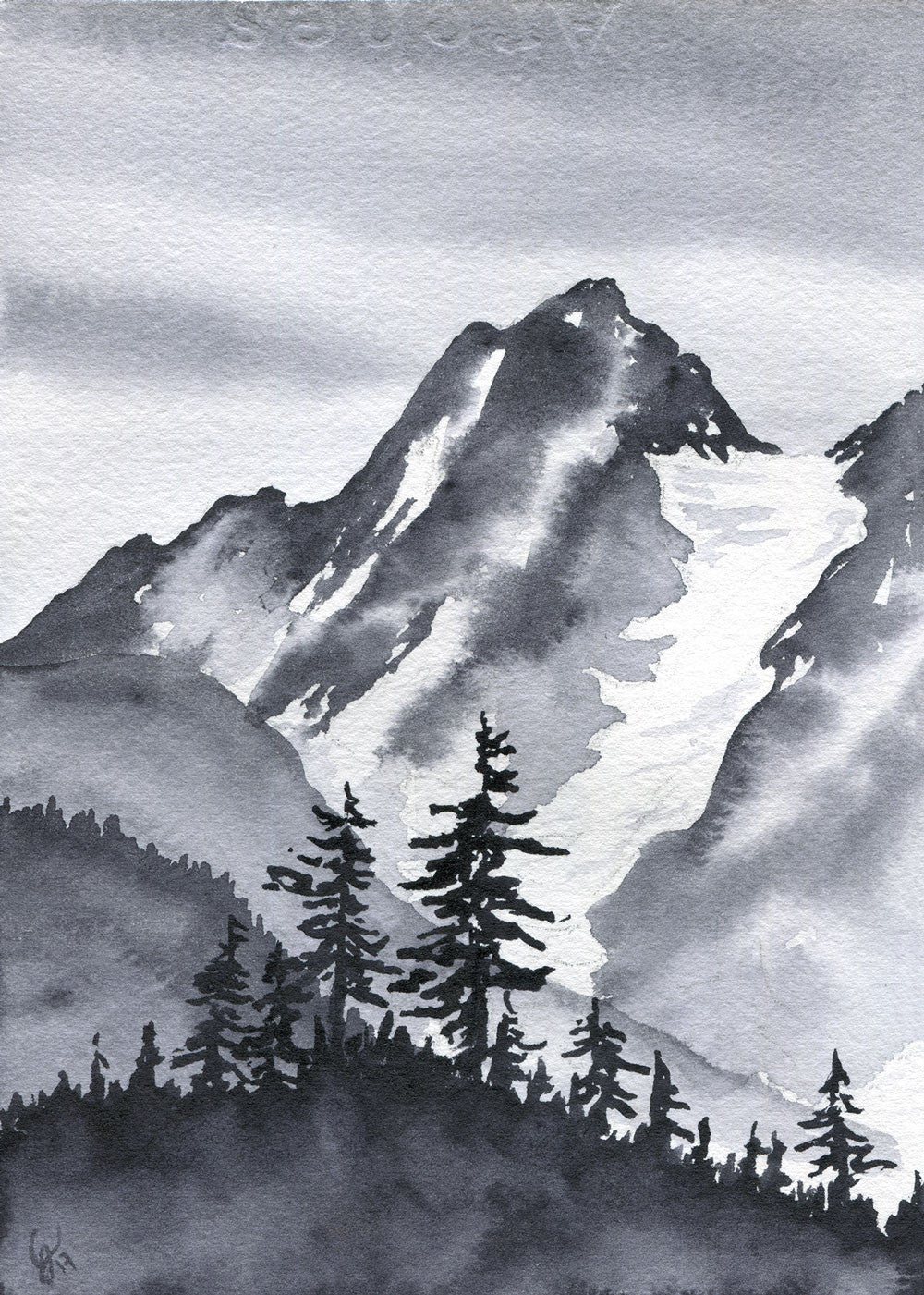 Cascade Pass Original (Watercolor)