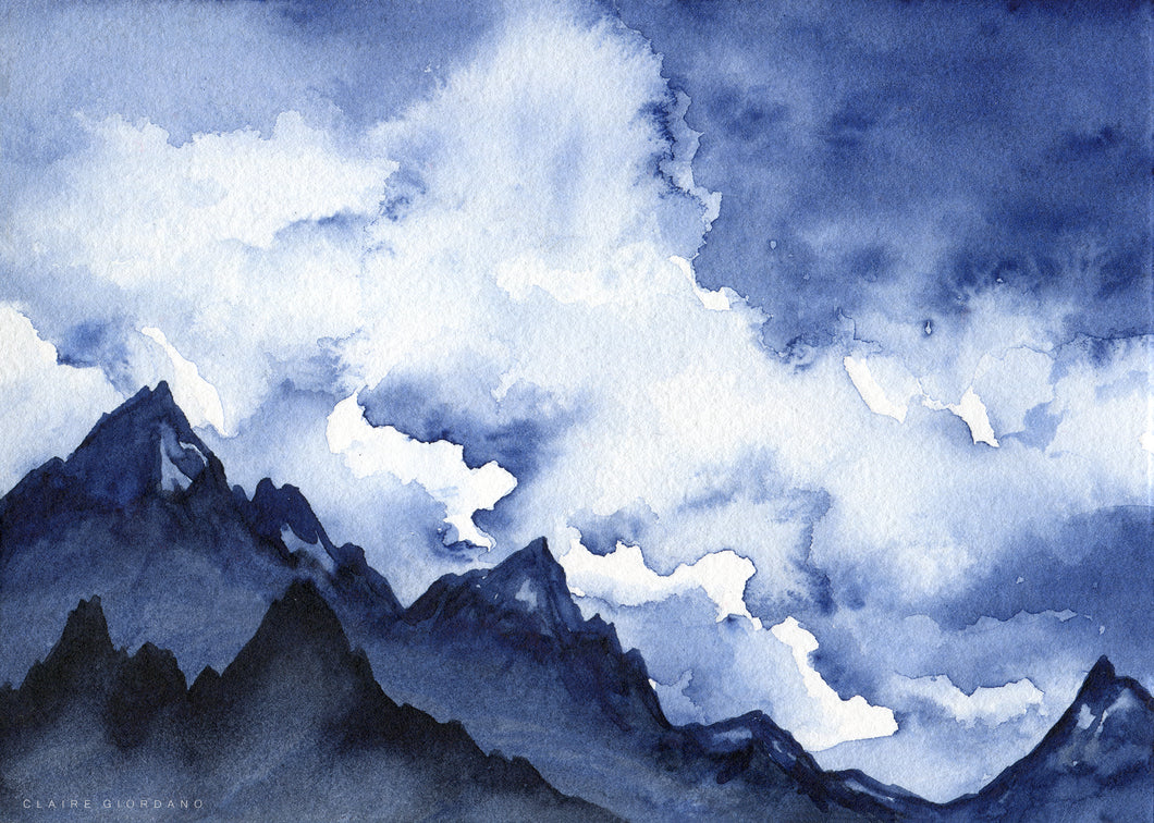 Indigo Clouds 1