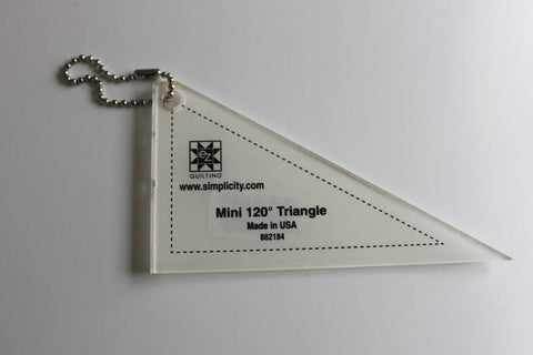 EZ Quilting 120 degree Mini Triangle Acrylic Template
