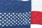 American Flag Heart Quilt