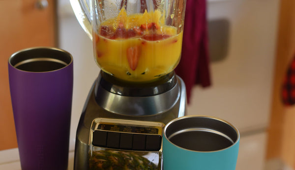 Energy and Immune Boosting Mango Strawberry Pineapple Smoothie!