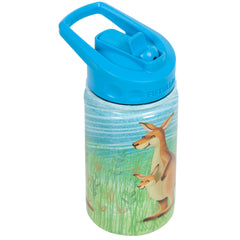 12oz Kids Bottle with Straw Cap - Kangaroo