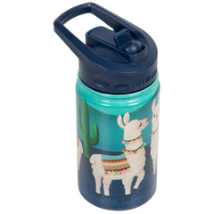 12oz Kid's Bottle with Straw Lid - Llama
