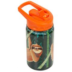 12oz Kid's Bottle with Straw Lid - Sloth