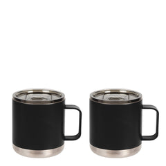 15oz Camp Mug with Slide Lid - 2 Pack Bundle