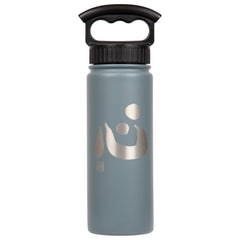 "18oz/530mL ""Heart"" Shodo Bottle (Slate Grey) 