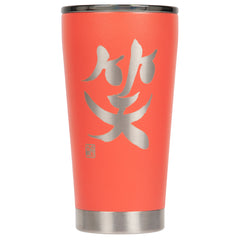 "16oz ""Laugh"" Shodo Tumbler (Coral) 