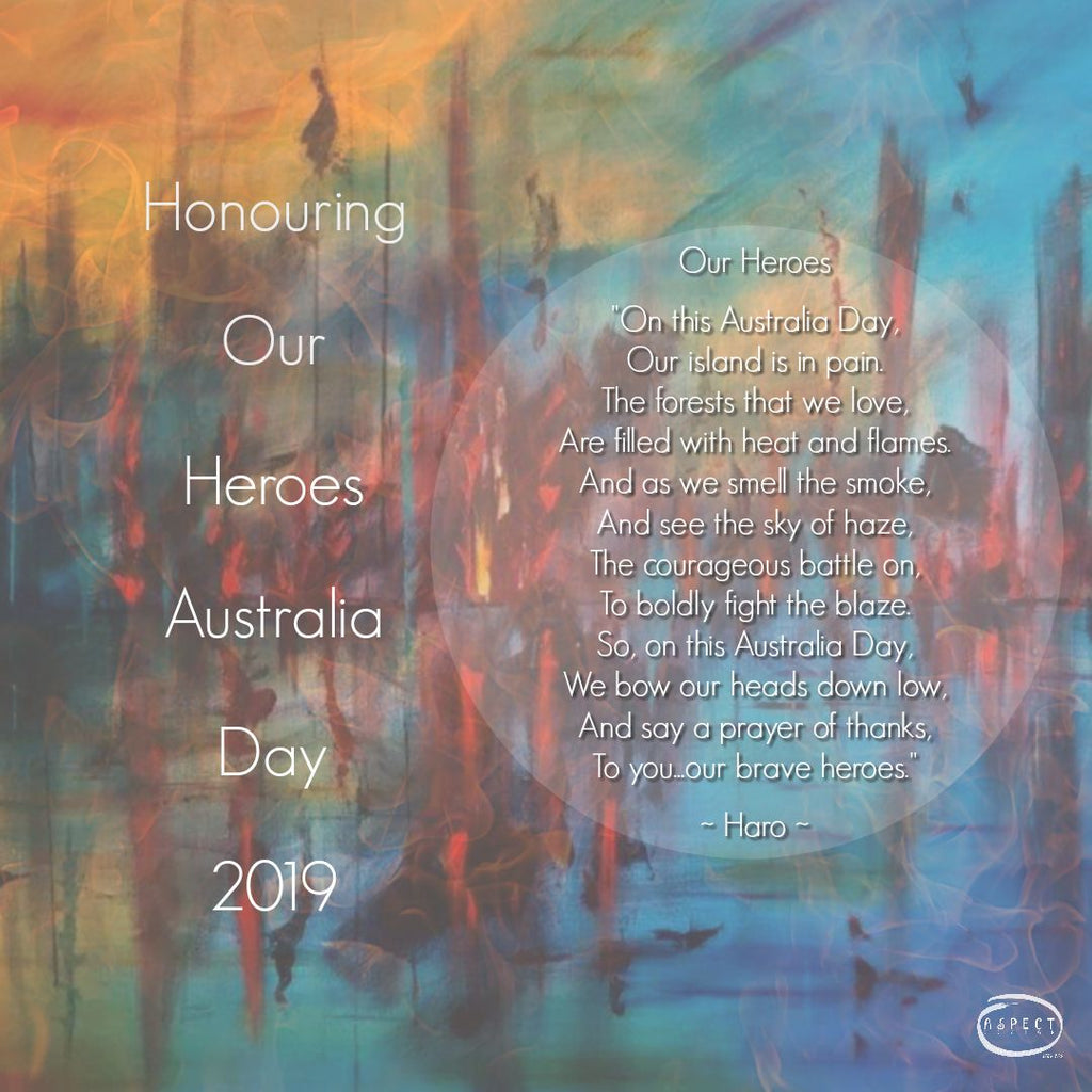 Honouring Our Firefighting Heroes Australia Day 2019