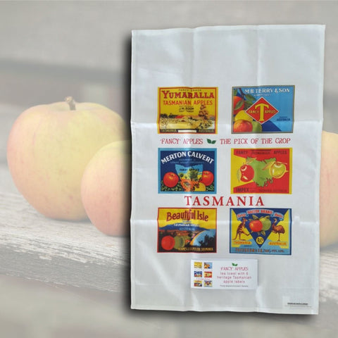 Tas Apple Cards - Aspect Design Salamanca Tasmania