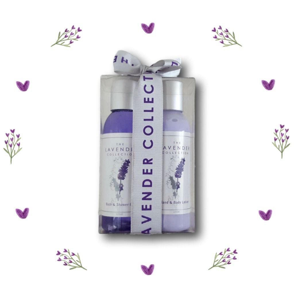Tasmanian Lavender Collection Bath & Shower Gel and Hand & Body Lotion Gift Pack - Aspect Design Tasmanian Gifts Gallery