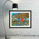 Esther Shohet Art Print 2 ~ 'Saturday at Salamanca' - Aspect Design Tasmanian Gifts Gallery