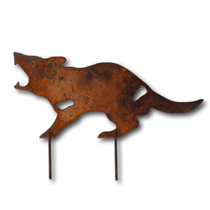 Metal Tassie Devil - Aspect Design Tasmanian Gifts Gallery