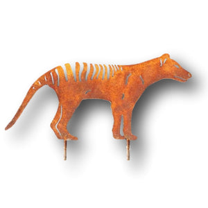 Metal Tassie Tiger - Aspect Design Tasmanian Gifts Gallery