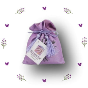 Lavender Luxury Embroidered Sachet - Aspect Design Tasmanian Gifts Gallery