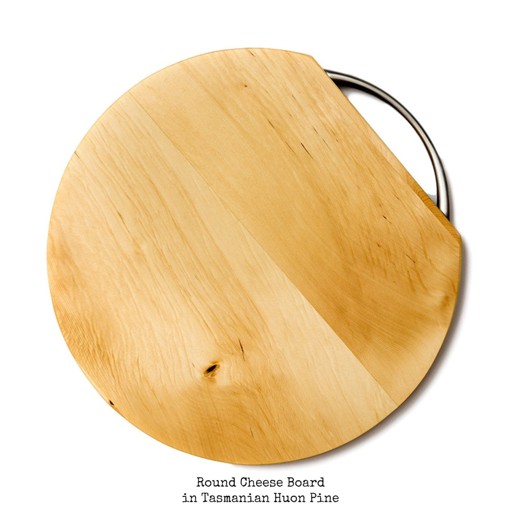 Round Cheese Board & Cutting Board - Aspect Design Tasmanian Gifts Gallery