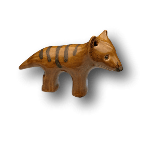 Ceramic Tassie Tiger by Yoona Designs - Aspect Design Tasmanian Gifts
