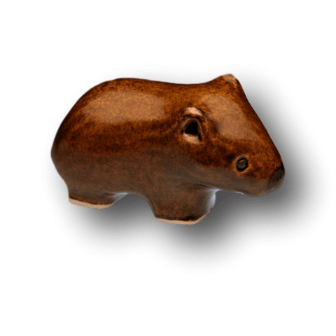 Ceramic Wombat by Yoona Designs - Aspect Design Tasmanian Gifts