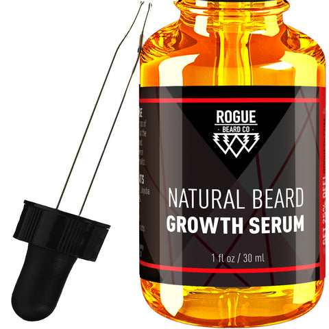 Beard Growth Serum - Beard Oil & Conditioner for Men