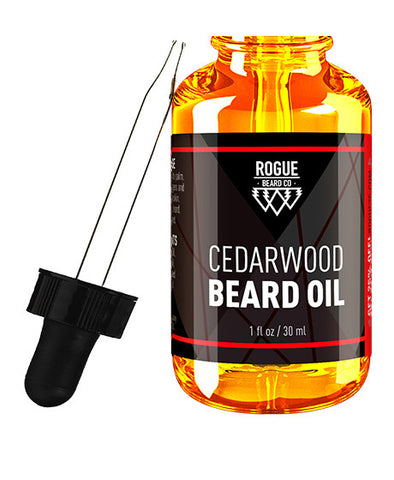 Rogue Beard Company Beard Oil Cedarwood Scent