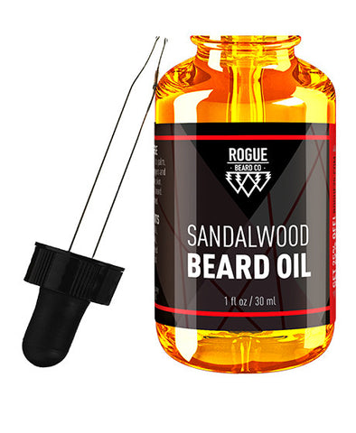 Rogue Beard Company Beard Oil Sandalwood Scent