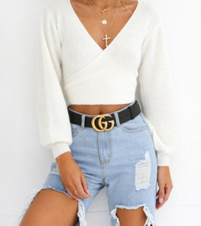 BRE WRAP SWEATER