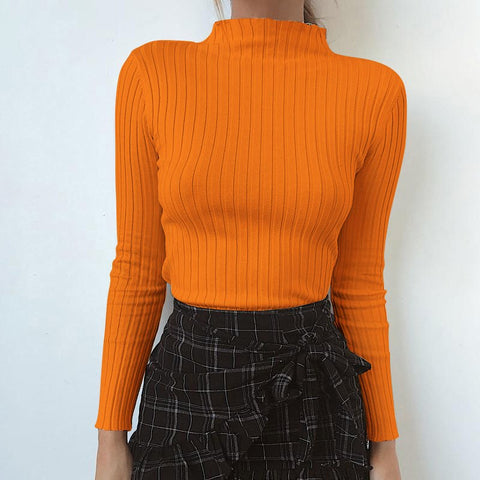 JULIA HIGH NECK LONG SLEEVE