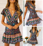 SASHA BOHO MINI DRESS