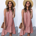 MALLORY POLKA DOT DRESS