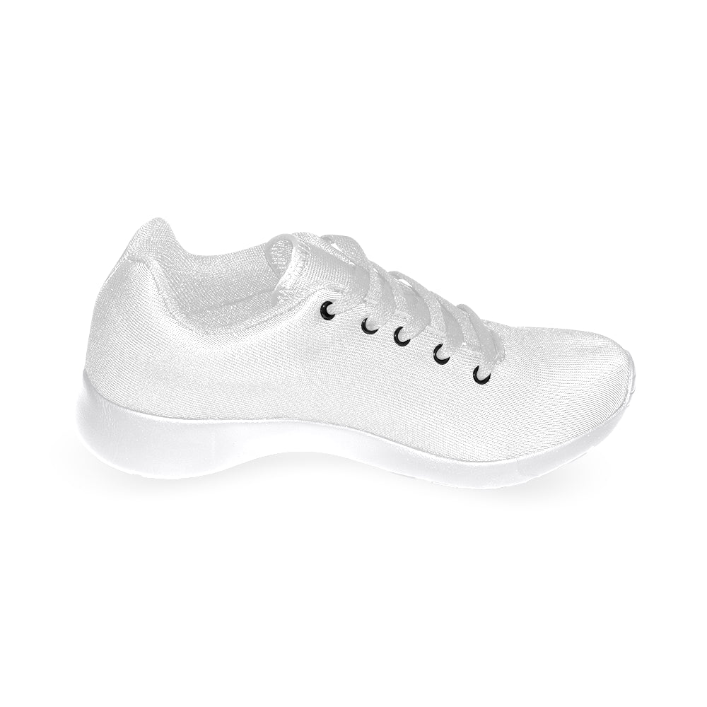 White Fashion Women's Running Sport Shoes - I Am A Dreamer