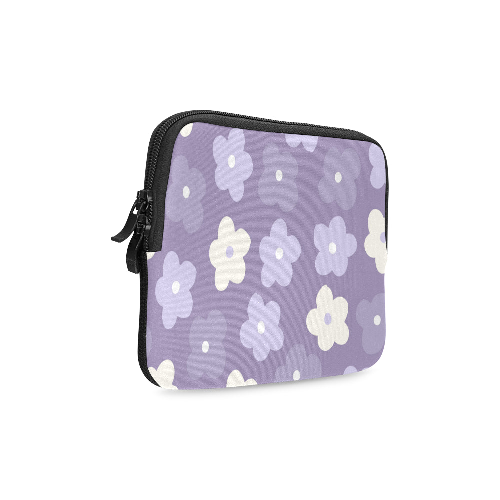 Floral Purple Dreamer iPad mini Sleeve - I Am A Dreamer