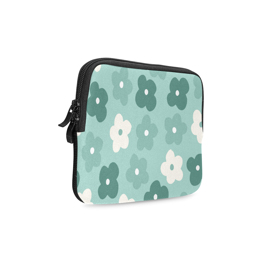 Floral Green Dreamer iPad mini Sleeve - I Am A Dreamer