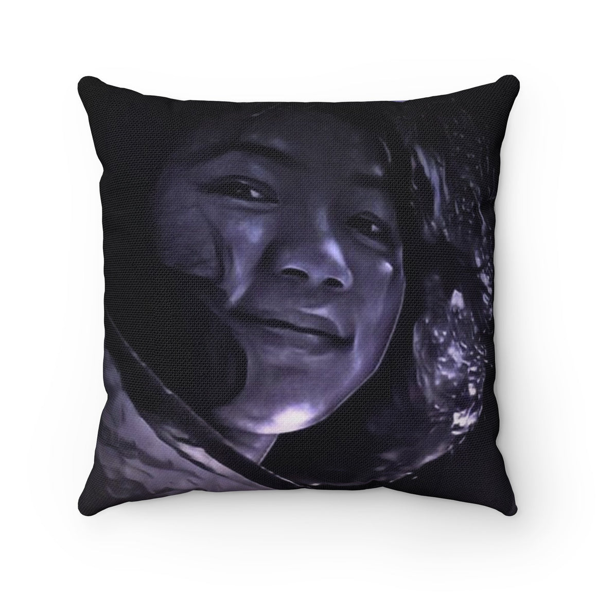 Levi Thang Vintage Face Design N Spun Polyester Square Pillow Case
