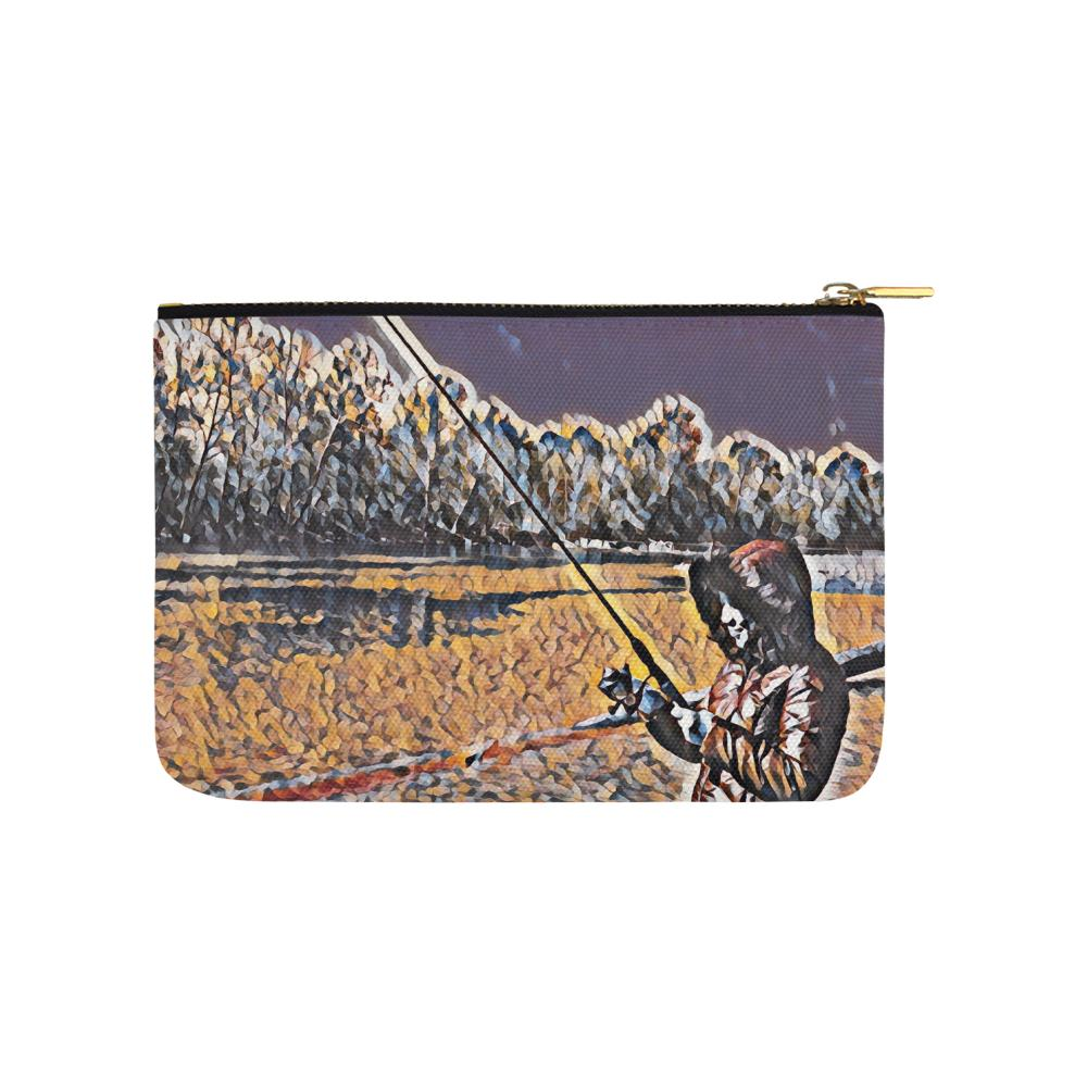 Levi Thang Fishing Design 3 Carry-All Pouch 9.5''x6'' - I Am A Dreamer