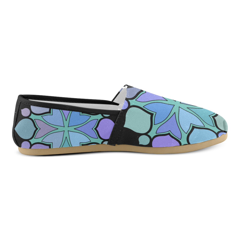 Elegant Floral Mandalay Women's Casual Shoes - I Am A Dreamer
