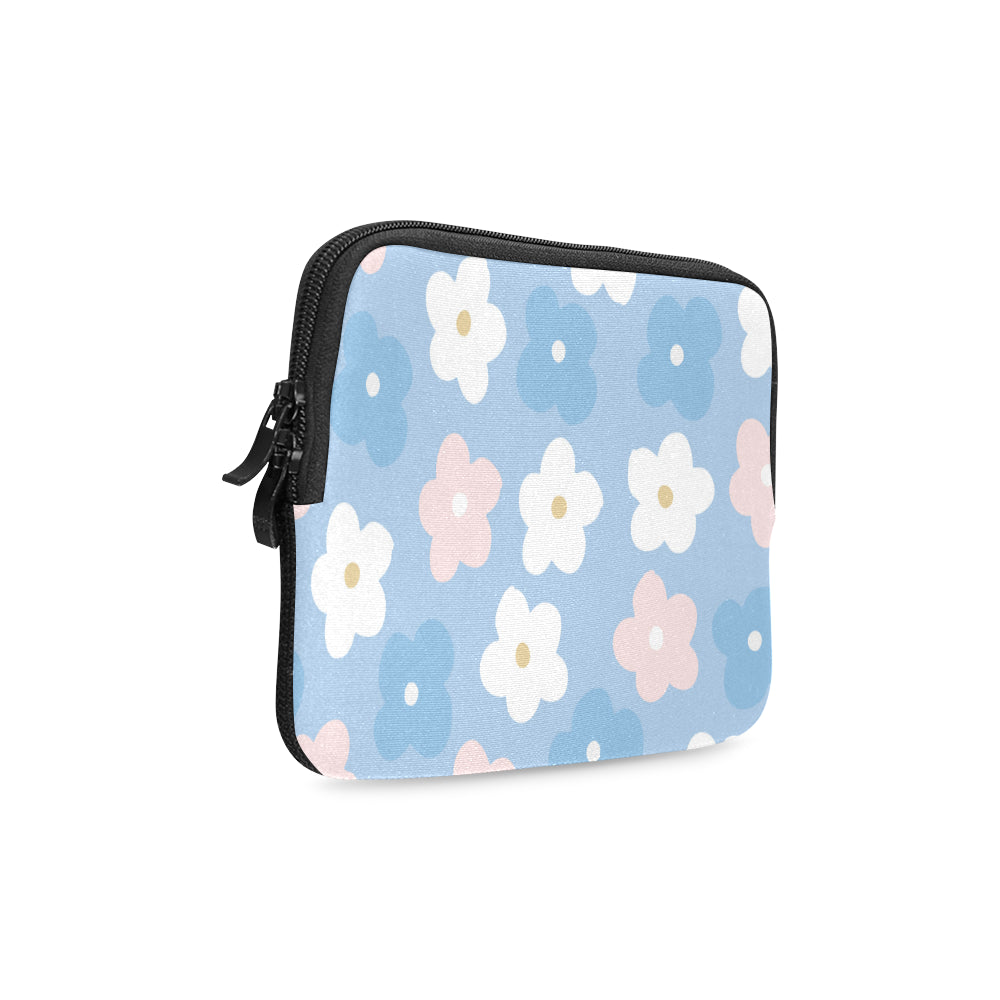 Floral Blue Dreamer iPad mini Sleeve - I Am A Dreamer