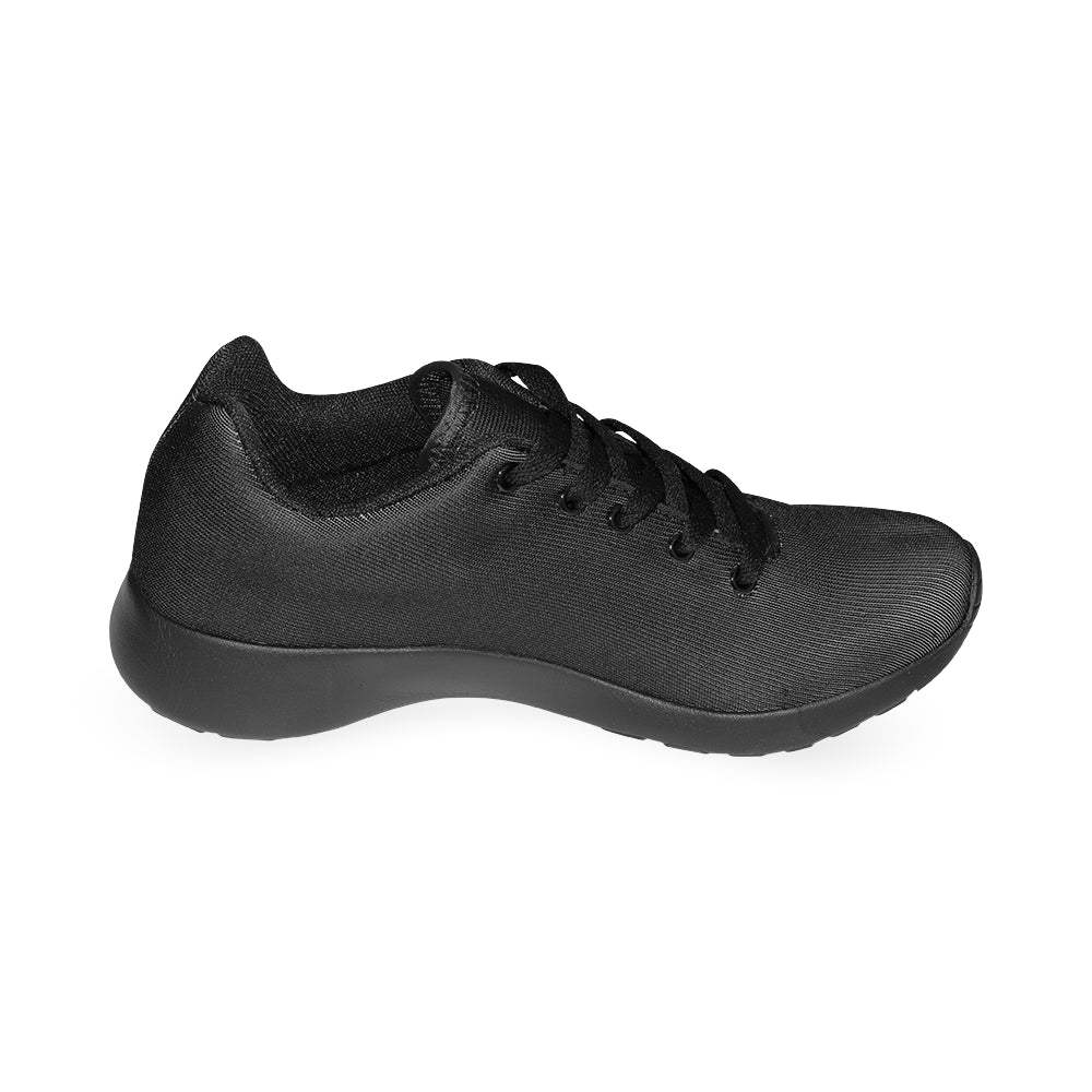 Black Fashion Women's Sport Running Shoes - I Am A Dreamer