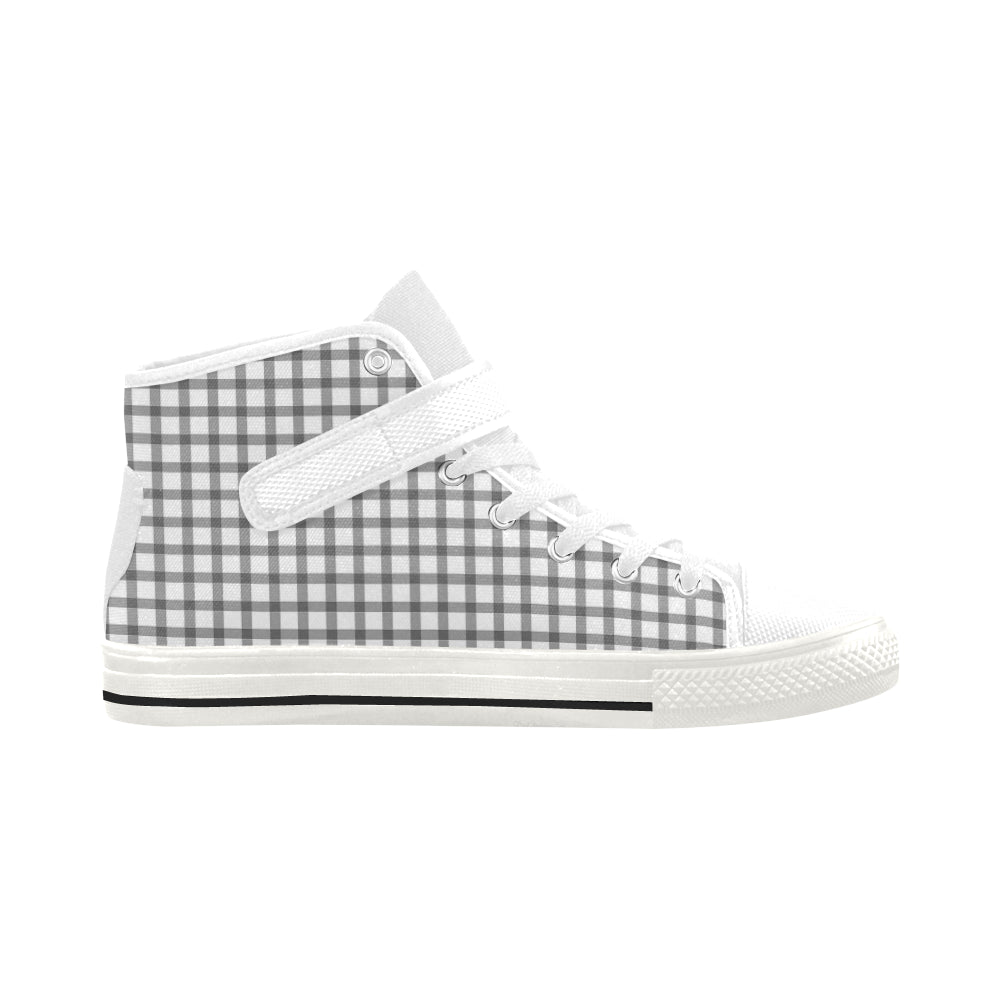 Dreamer Mizo Fashion High Top White Strap Women's Shoes - I Am A Dreamer