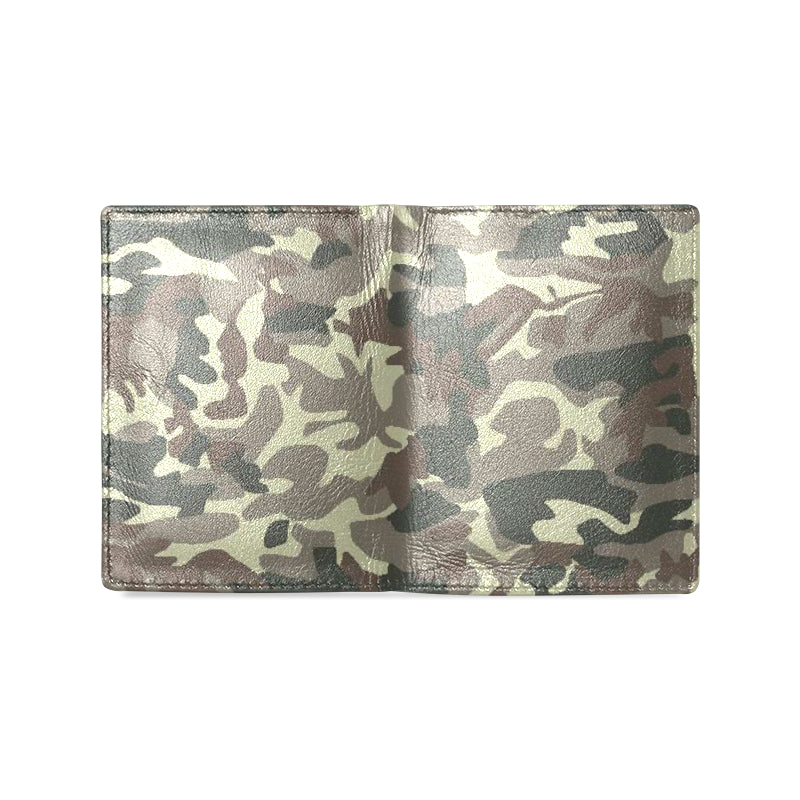 Camo Brown Men's Leather Wallet